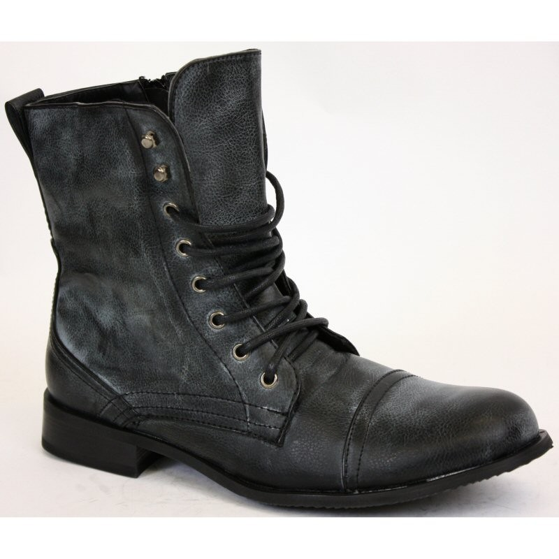 mens military boots marcelo-mens-black-military-style-boots-military-boots- LTILWTN
