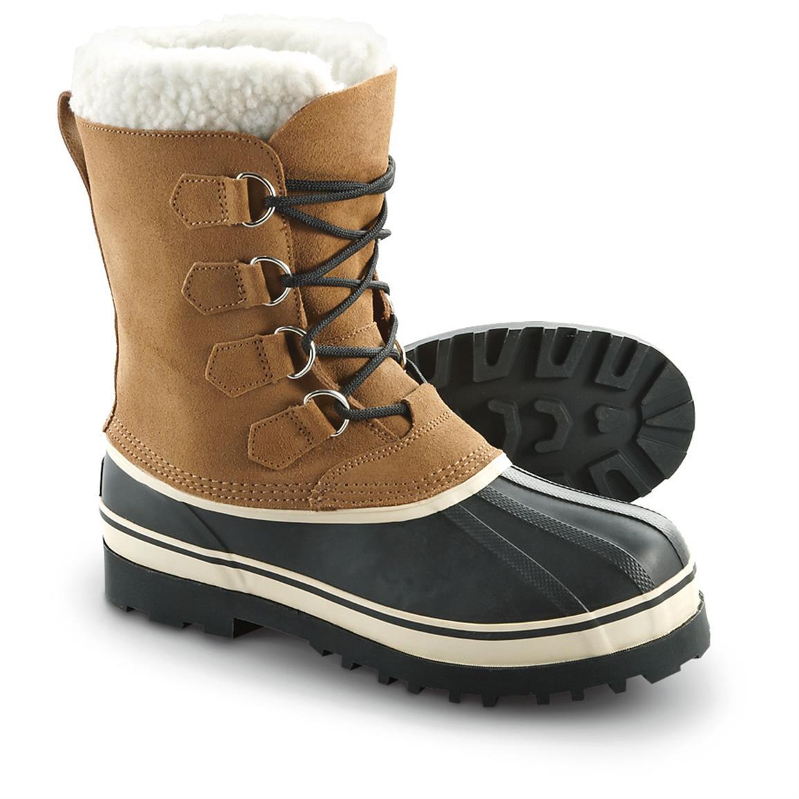 mens winter boots guide gear menu0027s hovland wool lined winter boots JDJLPMA