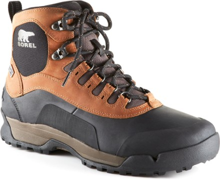 mens winter boots only_at_rei elk/black YEQILAA
