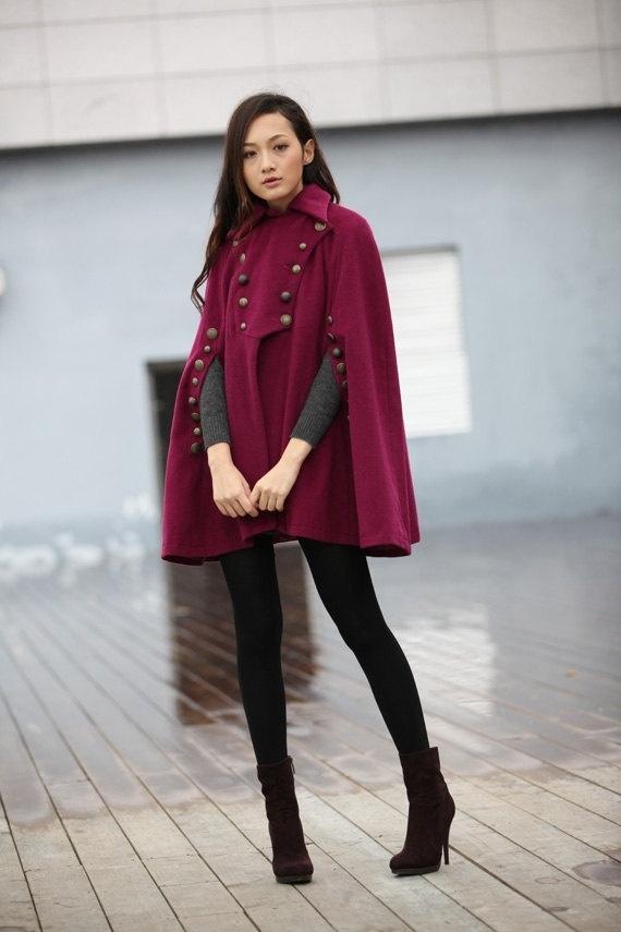 military cape coat HAUAEBB