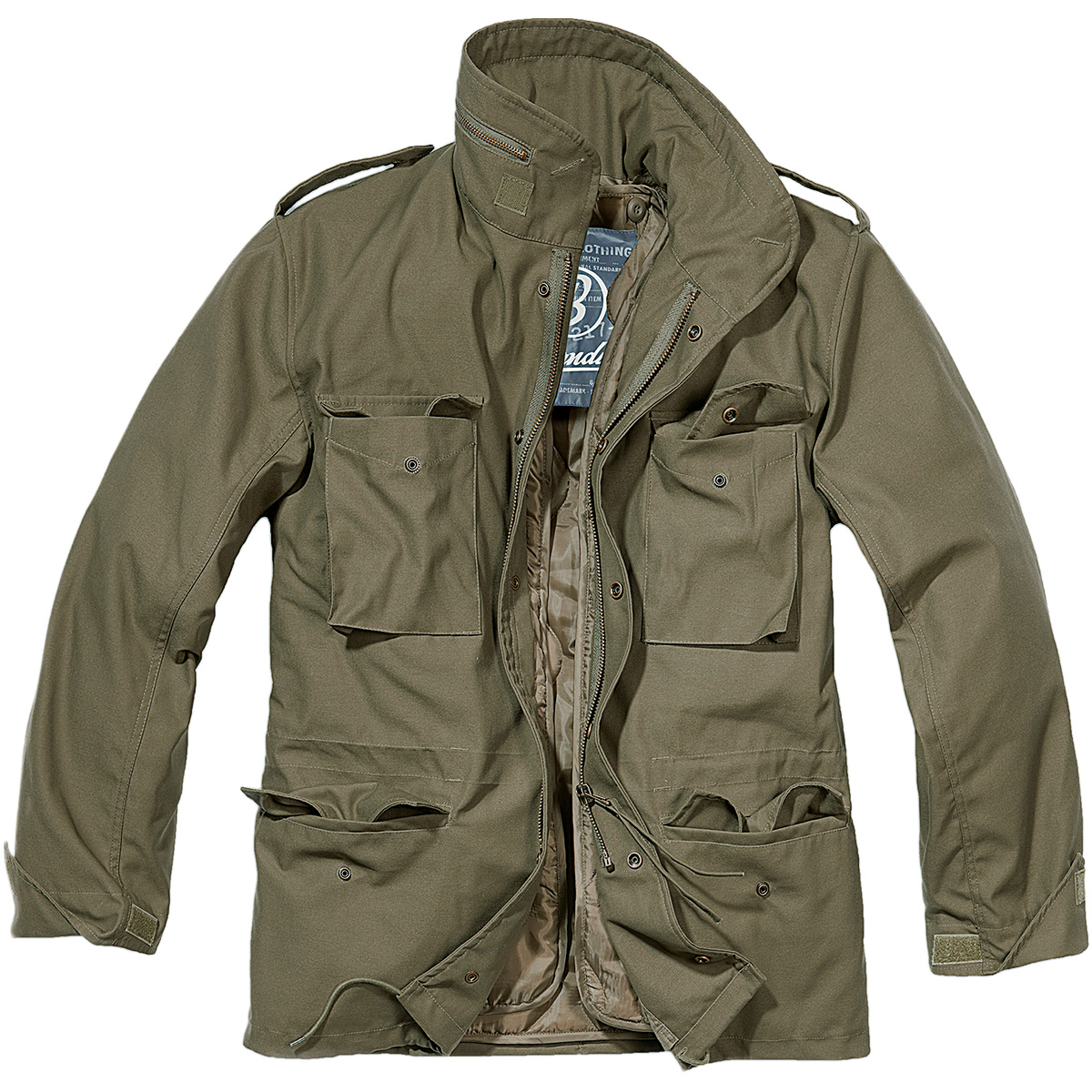 military jacket brandit-classic-m65-mens-army-field-jacket-warm- SPXWMCE