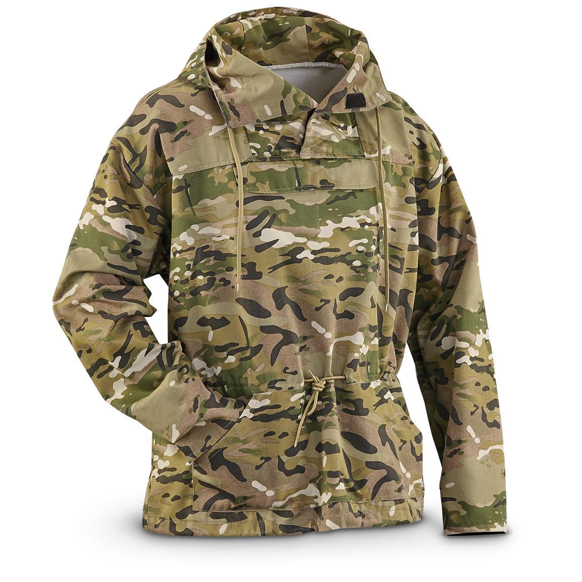 military jacket u.s. military surplus menu0027s ocp camo anorak jacket, new JBFAINL