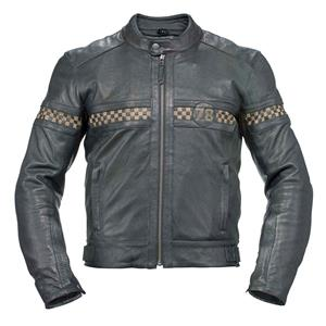 motorcycle jackets axo - vintage leather jacket - black UYLYSPV