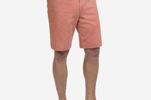 nantucket reds collection™ menu0027s plain front bermuda shorts DQTNLGZ