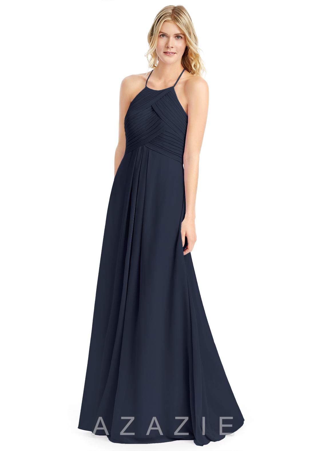 navy blue bridesmaid dresses azazie ginger azazie ginger FLYCLXH