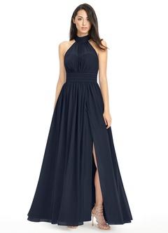 navy blue bridesmaid dresses azazie iman azazie iman YTQDXVF