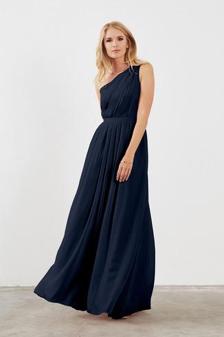 navy blue bridesmaid dresses dove u0026 dahlia savannah QVVVEAD