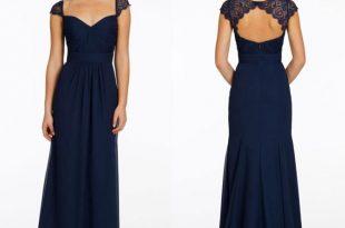 navy blue bridesmaid dresses navy blue bridesmaid dress, long br QAHXYYQ