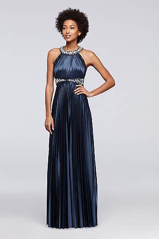 navy blue bridesmaid dresses navy blue u0026 royal blue bridesmaid dresses | davidu0027s bridal RMGONTW