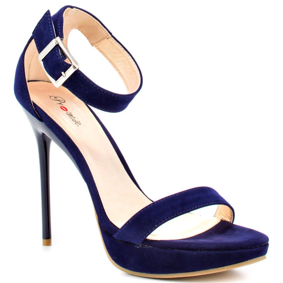 navy shoes romania - navy main view EXSLODL