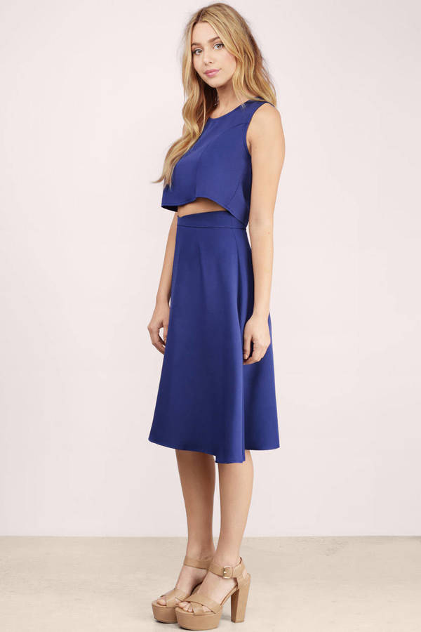 new wave navy midi skirt new wave navy midi skirt ... OIJAJCJ