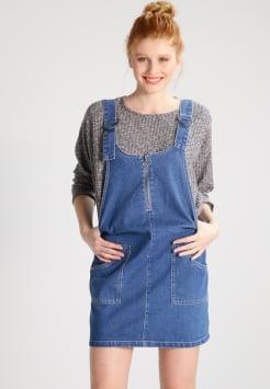 noisy may - nmdean - denim dress - medium blue denim APDQYWN