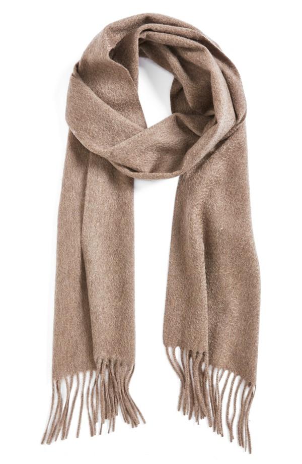 nordstrom solid woven cashmere scarf | nordstrom RTFTKOA