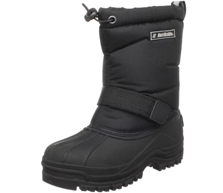 northside youth frosty winter boots black TBDWLTD