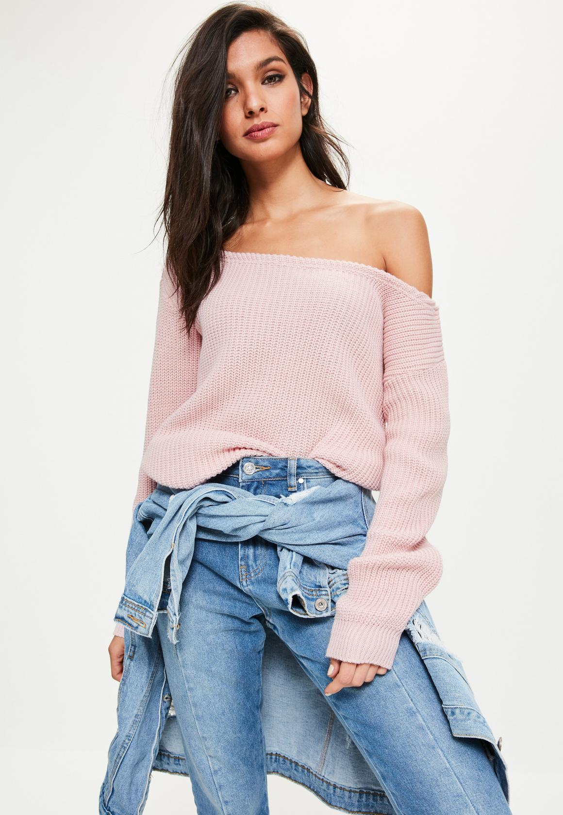 Staying warm and stylish during winter: off the shoulder sweater
