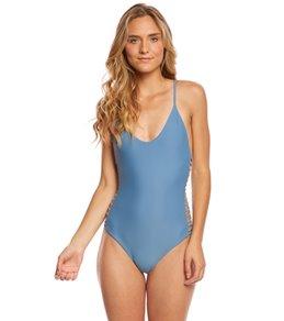one piece swimsuits for juniors stone fox swim breeze hermosa one piece swimsuit XYXGFOU