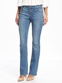 original boot-cut jeans for women YJIWLIK