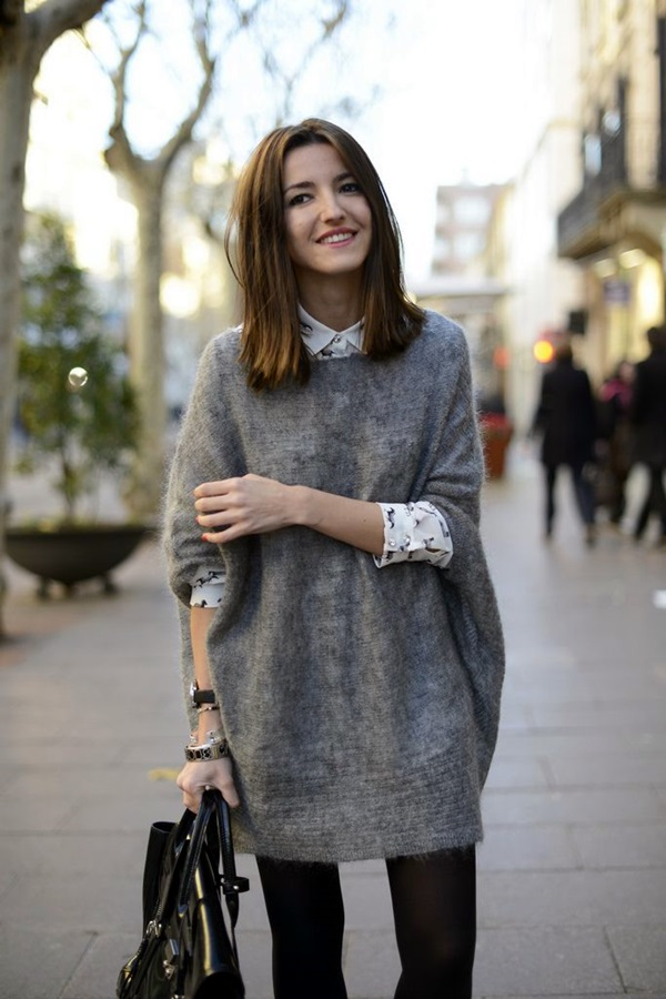 oversized sweaters 40 cute oversized sweater outfit ideas for 2015 BOBPPMN