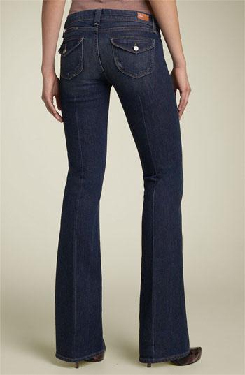 paige jeans paige denim u0027picou0027 flap pocket stretch jeans (midnight rocker) | nordstrom BERPYCQ