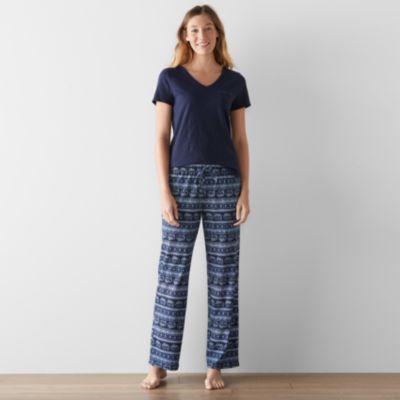 pajamas for women womenu0027s sonoma goods for life™ pajamas: dreamy nights tee u0026 pants ... XGTZPAO