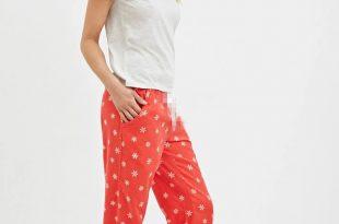 pajamas for women womens brand pajama sets women pajamas loose red snow cotton pajamas women  sleepwears homewears EUWBDKA