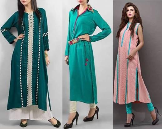 pakistani latest simple dresses for girls 2017 ... ISZCIYK