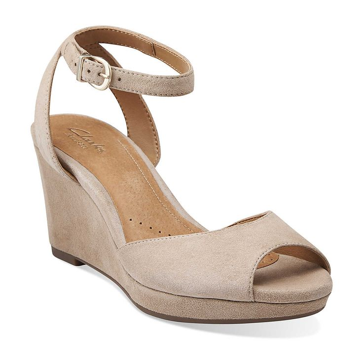 palmdale dasha in tan nubuck - womens sandals from clarks | womens wedges MHMGDGG