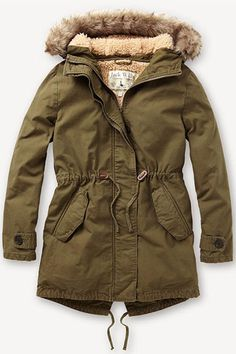 parka coats fresh coats: 10 winter coat trends under $300: parka recreation. jack wills  parka CFAMLEF