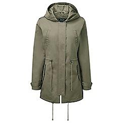 parka coats tog 24 - khaki ballad lightweight parka jacket WTPTFVZ