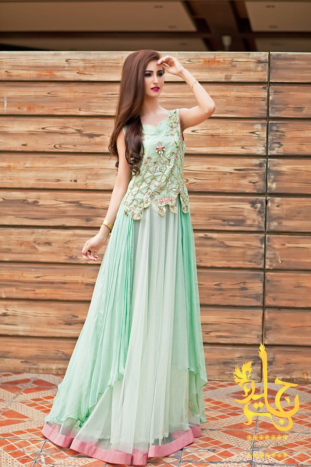 party wear dresses indian party wear frocks u0026 dresses 2015-2016 ... PLCKJZV