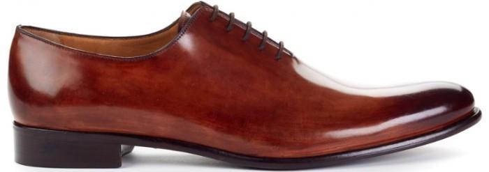 paul evans wholecut leather shoes PKQKLVG