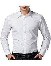 paul jones menu0027s long sleeves dress shirts OXRWMUK