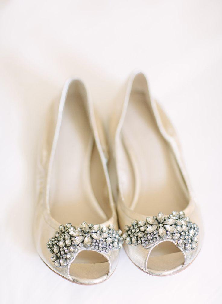 peep toe bridal flats CJJNCEQ