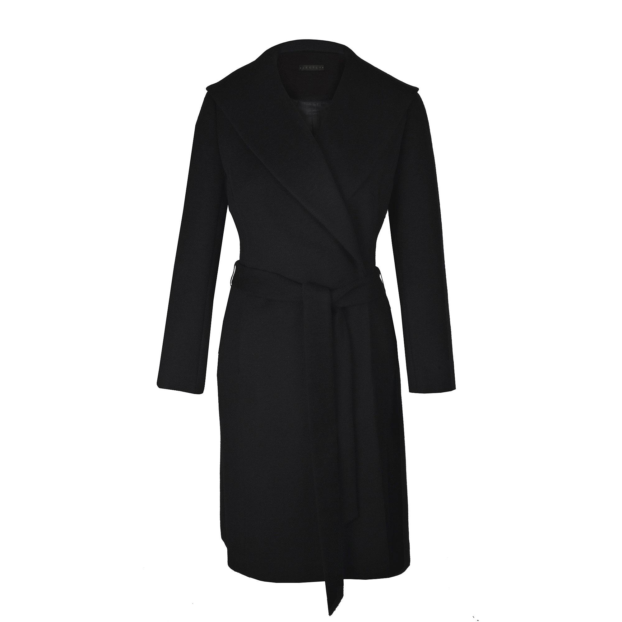 petite black coat XOSRLOC