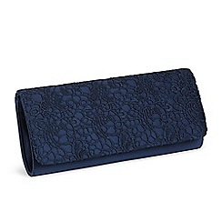 pink by paradox london - galaxy satin u0026 lace clutch bag UUEWPNR