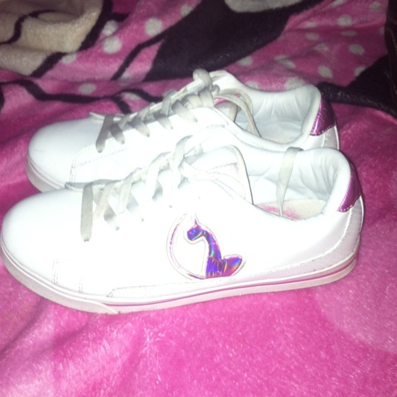 pink/white baby phat shoes XSDHLFP
