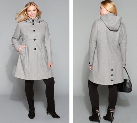 plus size coats dkny ... ZSSWBNZ