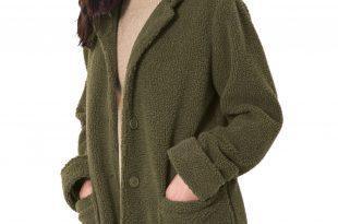 plus size coats hooded berber jacket SRXBVRE