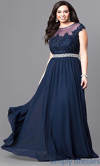 plus size formal dresses dq-9400pn NLAFQOJ