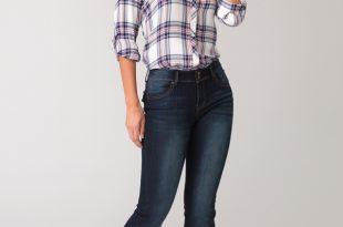 plus size jeans layla mid rise slim bootcut ECYIBGA