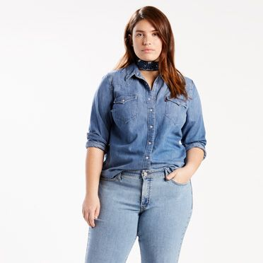plus size jeans quick view ZAXLKFZ