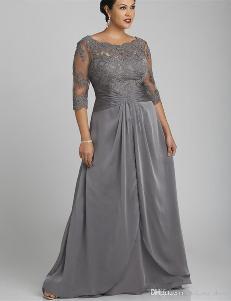 Make the way as the plus size mother of the bride dresses is coming through