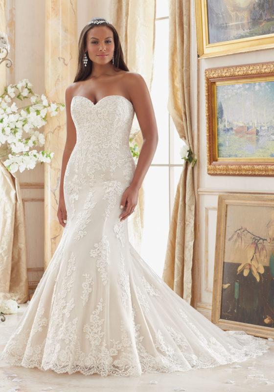 plus size wedding gowns julietta - plus size wedding dresses, wedding dresses u0026 bridal gowns  embroidered lace appliques QIAJALP