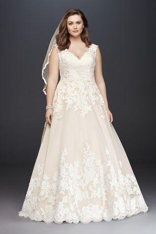 plus size wedding gowns plus size wedding dresses u0026 bridal gowns | davidu0027s bridal PHWVNBA