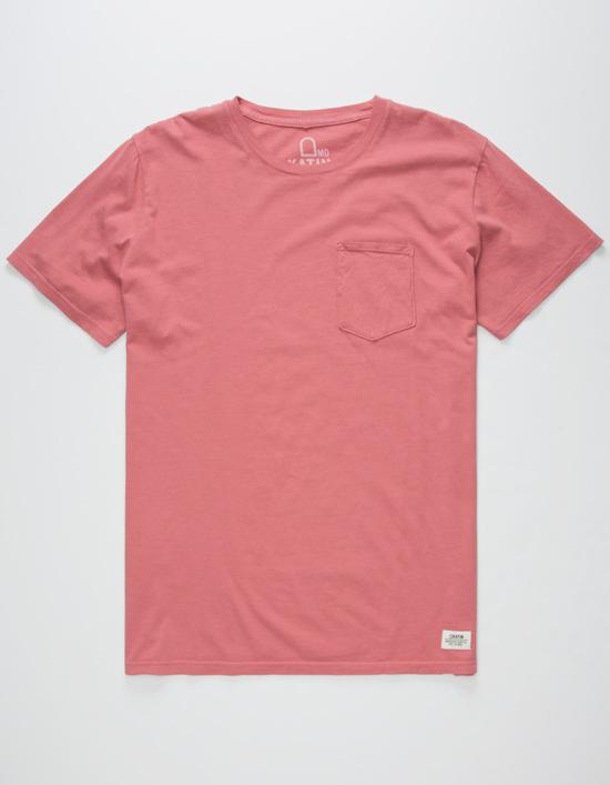 pocket tees katin base mens pocket tee pink HHPIHSM
