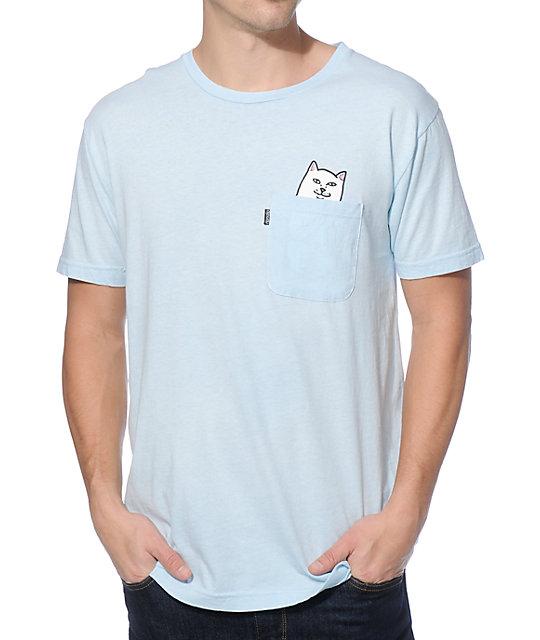 pocket tees ripndip lord nermal pocket t-shirt KLOHVAO