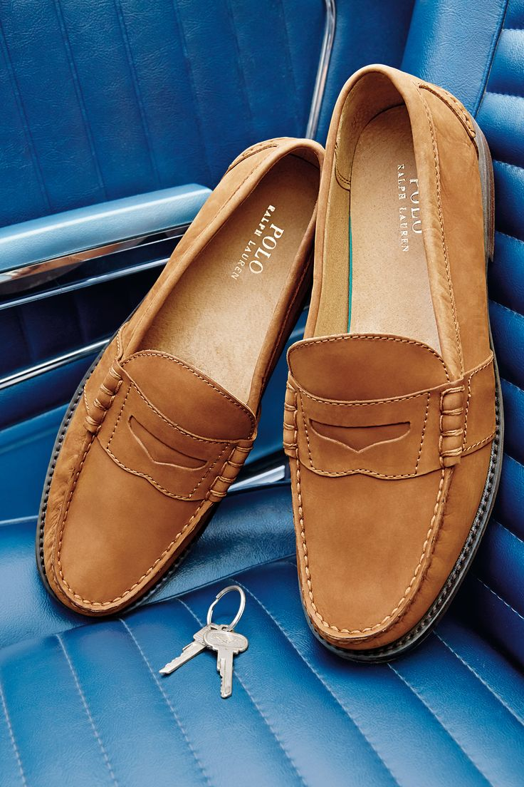 polo ralph lauren kennith loafers for men. these arenu0027t your average loafers:  handsewn leather NMZXITH