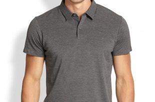 polo shirts for men silkblendpolo - ashley weston MIUKYBA