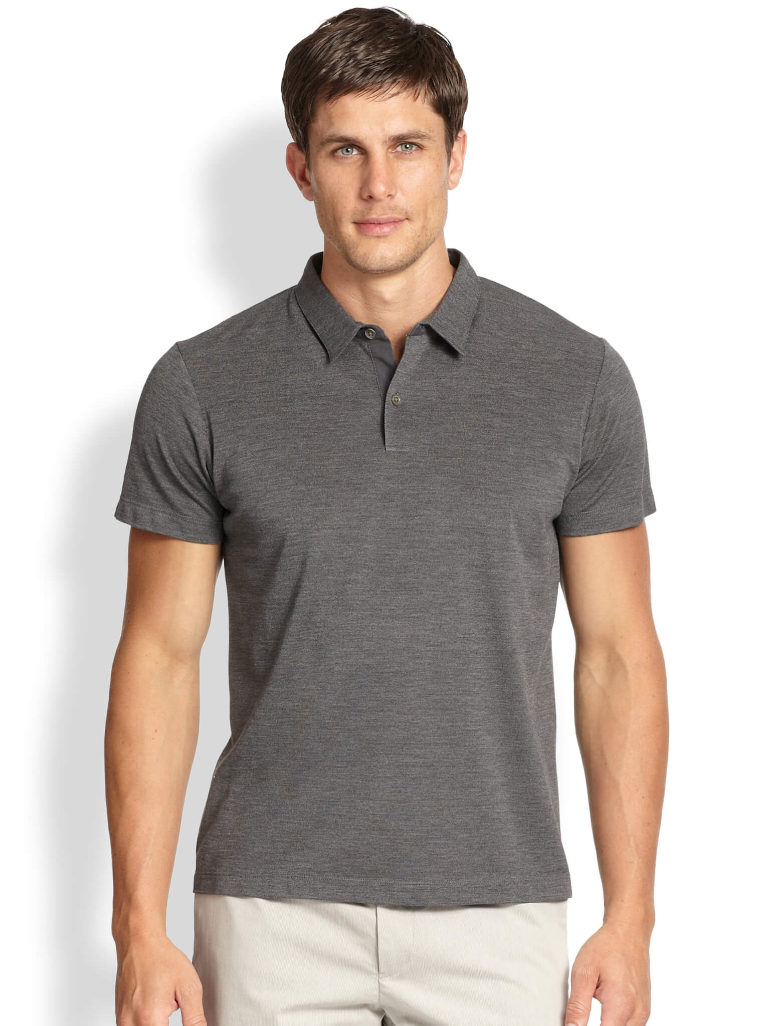Different branded polo shirts for men