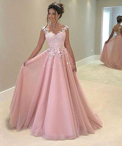 pretty dresses new arrival prom dress,appliques pr SQOZIPF